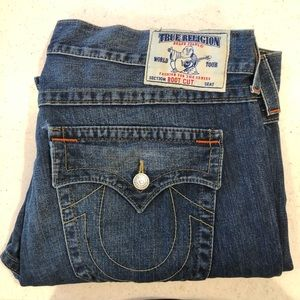 EUC True Religion Bootcut Jeans - Size 42